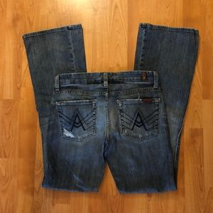7 For All Mankind A Pocket Jeans 27
